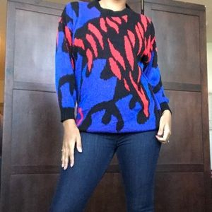 2 for $40 vintage patterned sweater